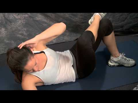 Core Exercises: Twisting Crunches