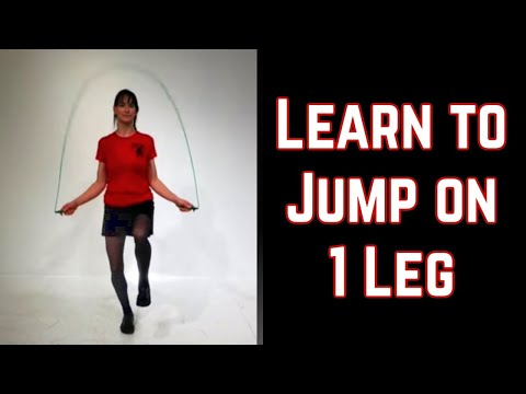 Learn How to Jump Rope on One Leg (2015)