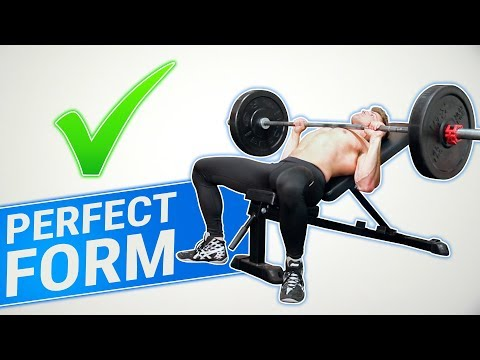How To: Incline Barbell Bench Press | 3 GOLDEN RULES! (MADE BETTER!)