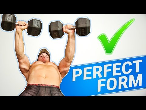 How To: Dumbbell Bench Press | 3 GOLDEN RULES