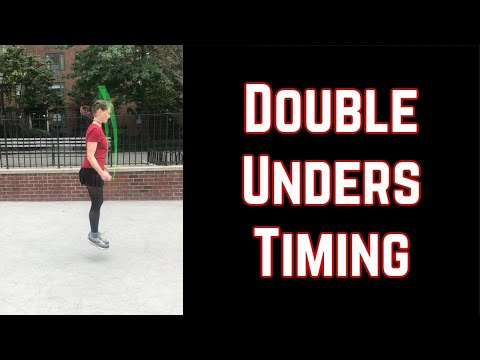 Learn Proper Timing for Jump Rope Double Unders