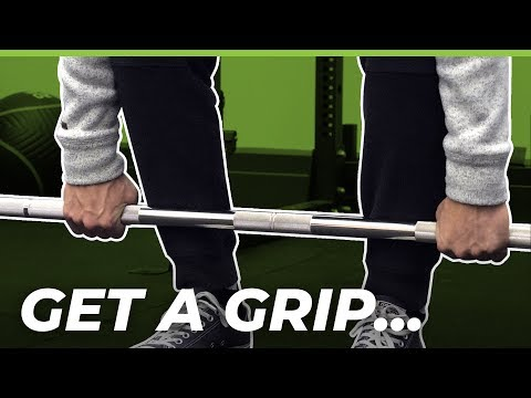 Deadlift GRIPS — Overhand vs. Hook Grip vs. Mixed