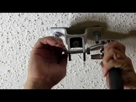 How to install a Punching bag (Concrete Ceiling)
