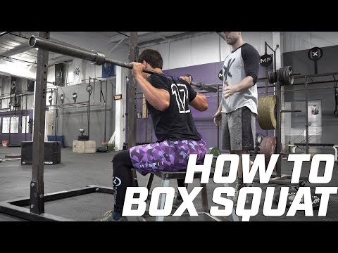 How to Box Squat PROPERLY!